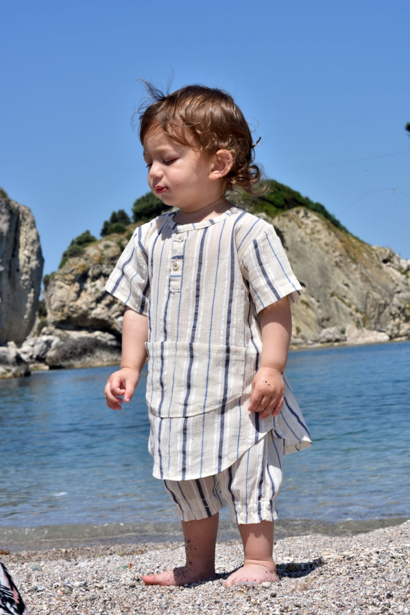 DENIZ TOP & SHORT KID'S SET