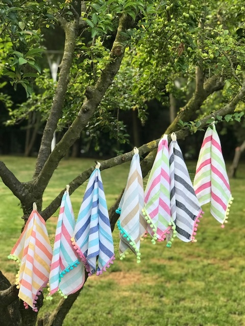 RAINBOW TEA TOWELS