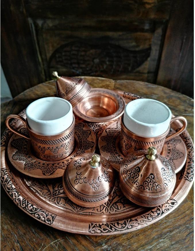 GONUL TURKISH COFFEE SET