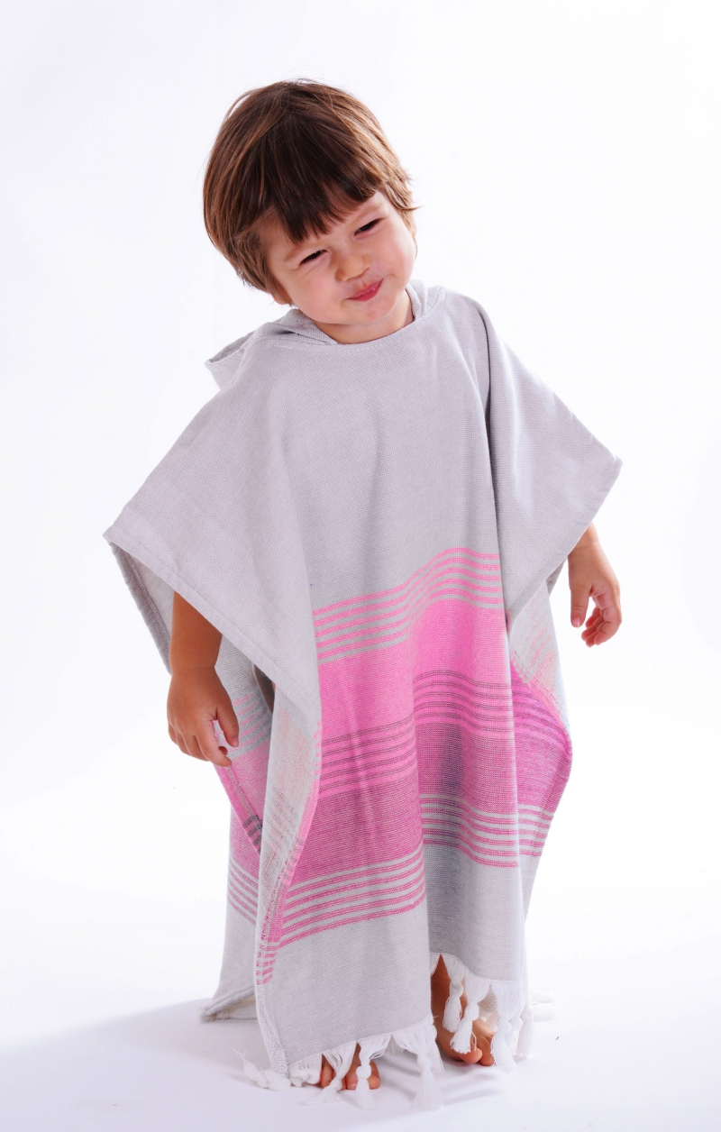RAINBOW TODDLERS PONCHO