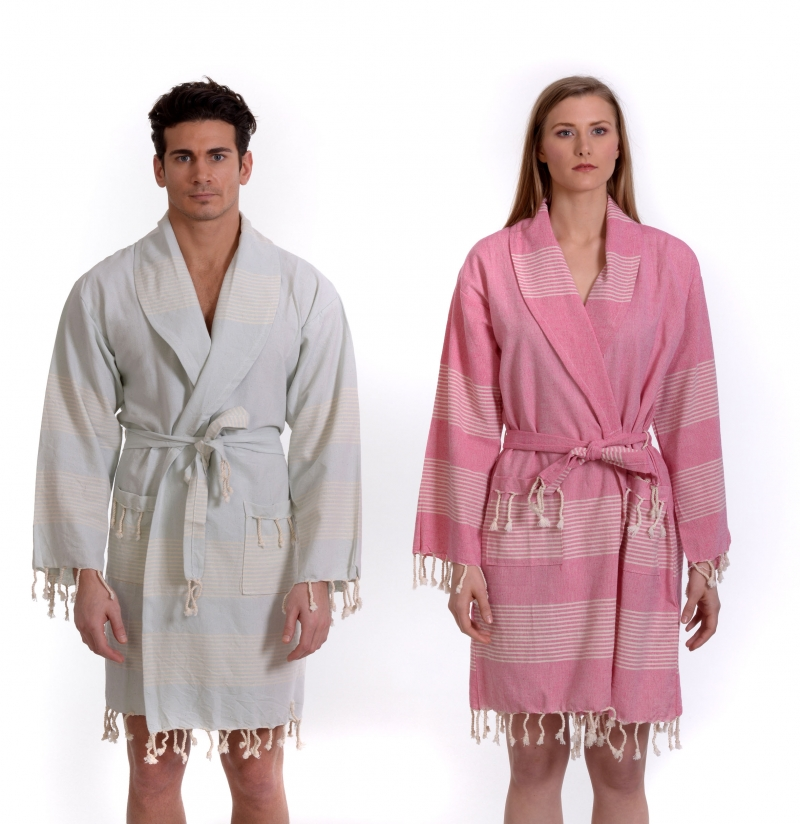NATURAL BATHROBE